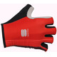 Sportful Bodyfit Pro Gloves red/black/coral fluo